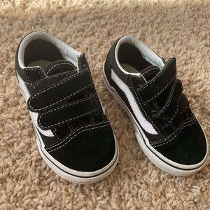 Vans Toddler Old Skool V (Black)